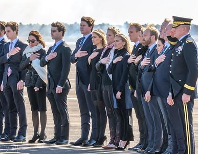 Family honoring President 41