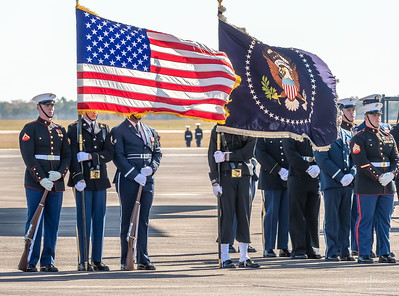 Honor, respect and Patriotism filled the solemn atmosphere