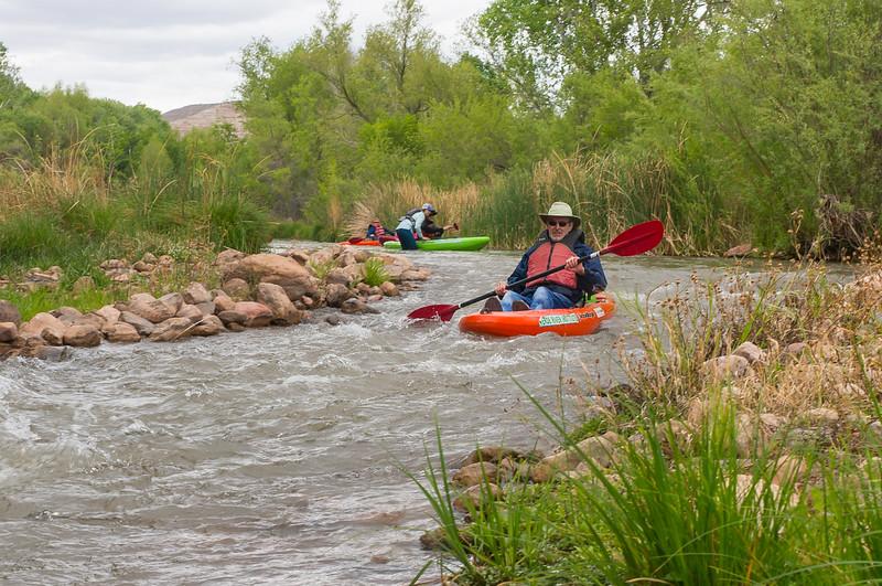 Verde River Float Trip, Tapco to Tuzi, 4/20/18