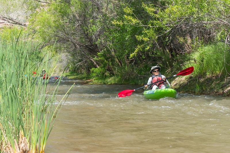 Verde River Institute Float Trip, Tapco to Tuzi, 4/27/17