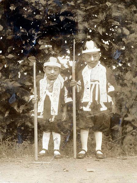 Isamu & Moriso Dressed Up