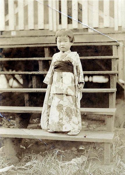 Yaeko in a Kimono