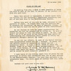 Title: Order Day<br /> <br /> Description: From Gen Joseph T. McNarney (Acting supreme allied commander). Good luck & Good bye<br /> <br /> Date: 23 Oct 1945<br /> <br /> Photo courtesy of Seiji Oshiro. Copyright retained by the Estate of Seiji Oshiro.