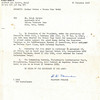 Title: Letter Orders: Bronze Star Medal to Seiji Oshiro<br /> <br /> Date: 1952.11.21<br /> <br /> Subject: Actions that occurred in February 1944. Rome-arno campaign in the Mediterranean theatre of operations<br /> <br /> Photo courtesy of Seiji Oshiro. Copyright retained by the Estate of Seiji Oshiro.