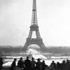 Title: Photo of Eiffel tower<br /> <br /> Date: 1945<br /> <br /> Location: Paris, France<br /> <br /> Notes from Yasunori: Eiffel Tower. Furlough<br /> <br /> Photo courtesy of Yasunori Deguchi. Copyright retained by the Estate of Yasunori Deguchi.