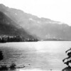Title: Photo of Lake Geneva, Switzerland<br /> <br /> Date: 1945.10<br /> <br /> Location: Switzerland<br /> <br /> Notes from Yasunori: 10 days furlough. Photo of Lake Geneva, Switzerland. <br /> <br /> Photo courtesy of Yasunori Deguchi. Copyright retained by the Estate of Yasunori Deguchi.