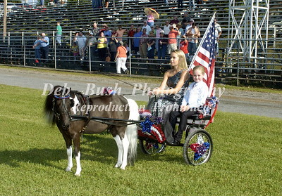 OPENING CEREMONIES AND FLAG  HORSES