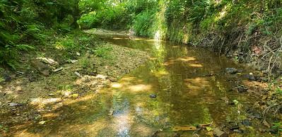 Creek at back of property