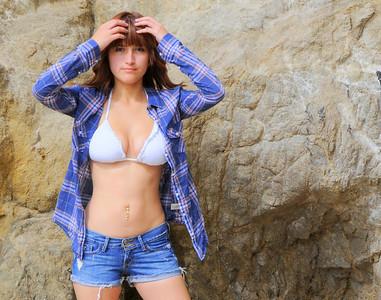 swimsuit model beautfiful woman malibu 098.09..
