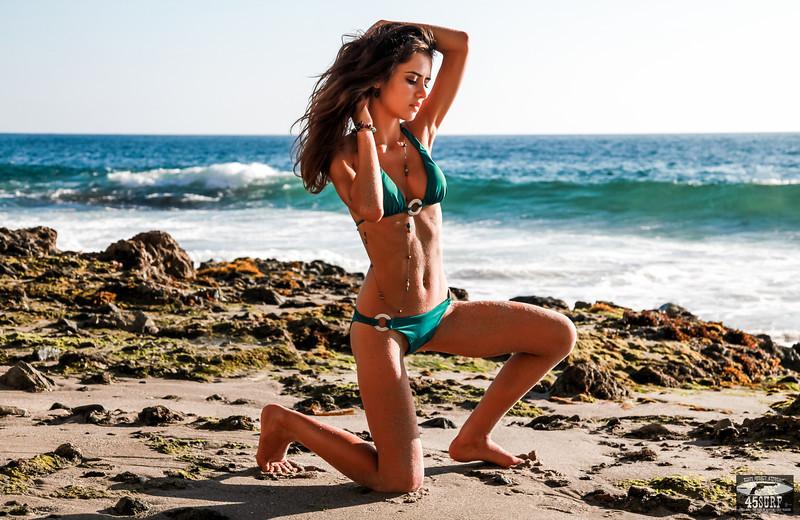 Epic Goddess! Pretty Swimsuit Bikini Model! :)  Tall, thin, fit and beautiful!