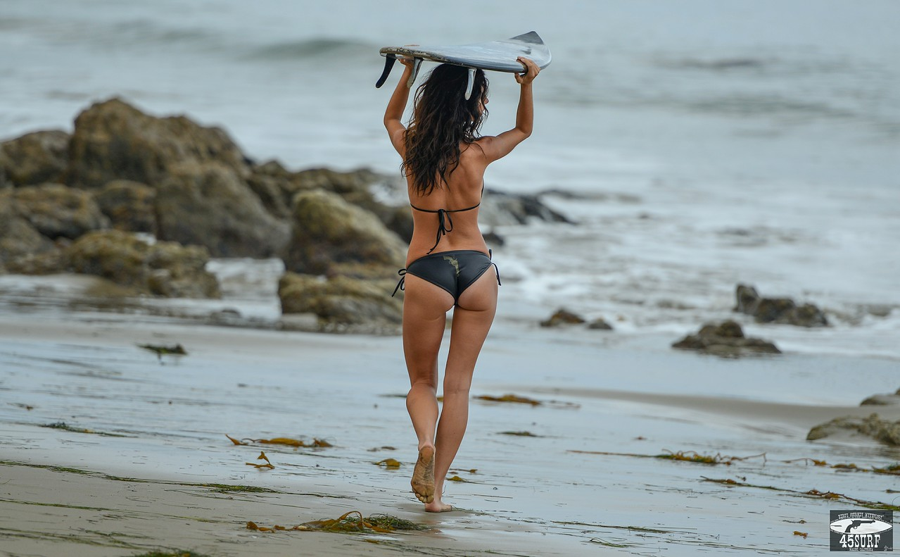 Swimsuit Bikini Model Goddess!  Nikon D800E Socal Surf Lifestyle Photoshoot!