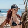 Nikon D800E Photos Pretty Ginger Redhead Swimsuit Bikini Model Goddess! Gorgeous Blue Eyes! Sharp Nikkor 70-200mm VR2 F2.8 Lens!