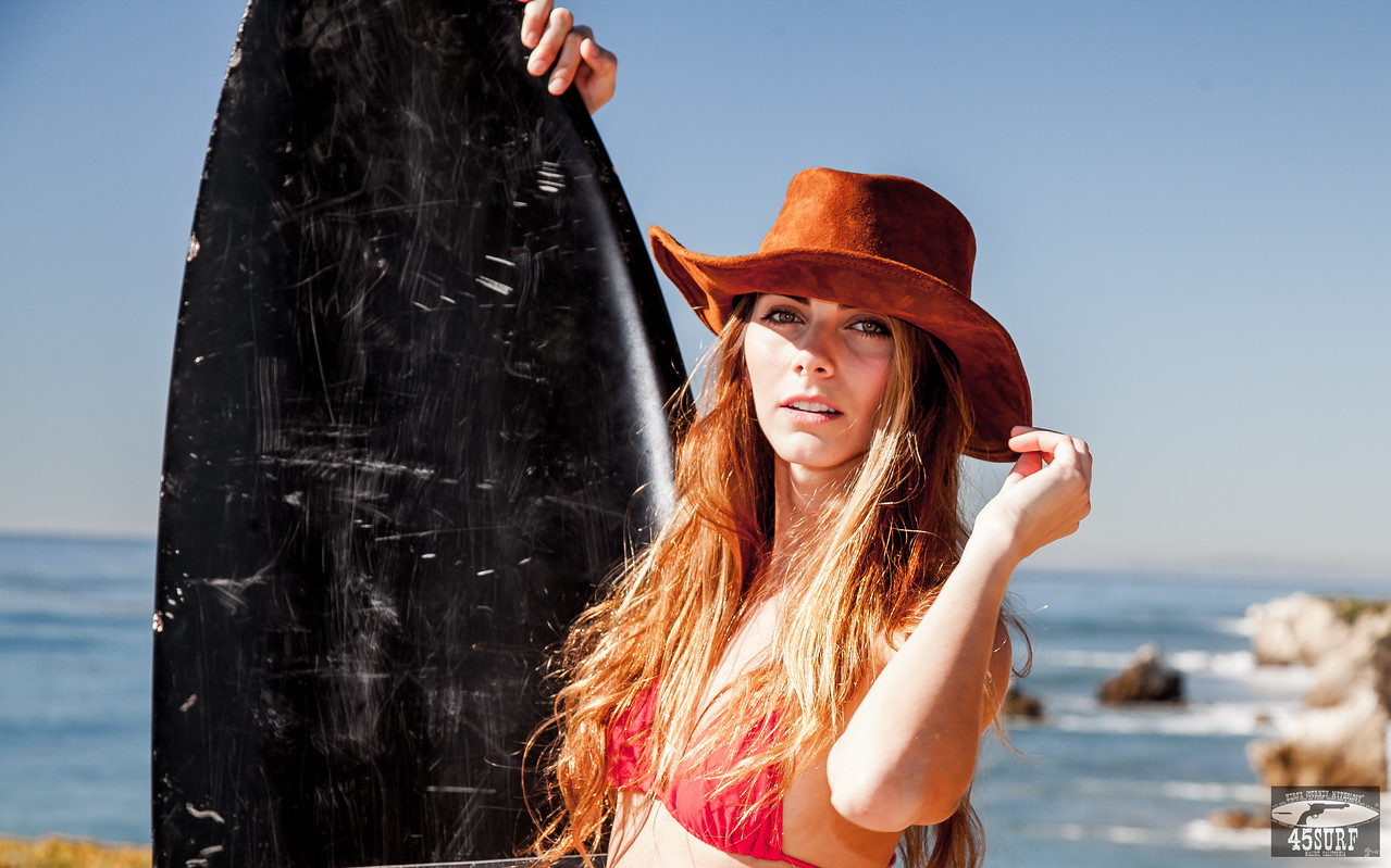 PRETTY Green Eyes! Canon 5D Mark II Photos of Beautiful Brunette Swimsuit Bikini Model! Goddess of War & Beauty!