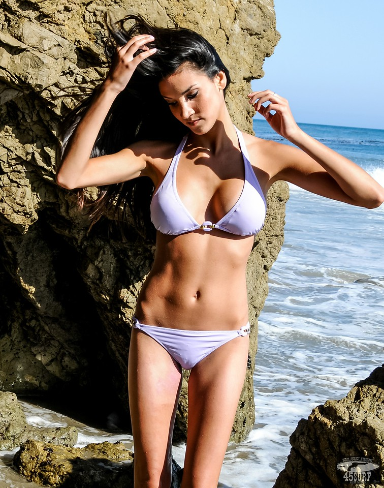 PRETTY Brunette Swimsuit Bikini Model Goddess Sisters Posing on Beach: Nikon D300 Photos! Beautiful & Hot!