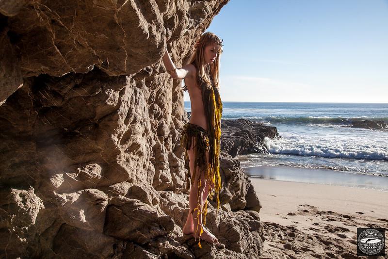 PRETTY! Canon 5D Mark II Photos of Beautiful Blonde Swimsuit Bikini (Seaweed Bikini!) Model Goddess with Pretty Blue Eyes !