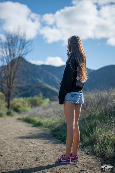 Malibu Spring! Nikon D800E + 50mm f/1.8 Prime Photos of Pretty Goddess in Malibu Canyons