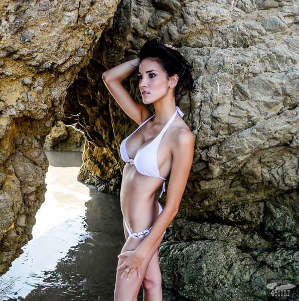 PRETTY Brunette Swimsuit Bikini Model Goddess Sisters Posing on Beach: Nikon D300 Photos! Beautiful & Hot!