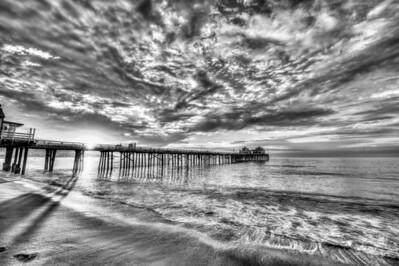 Dr. Elliot McGucken Fine Art Photography Black & White HDR Landscape