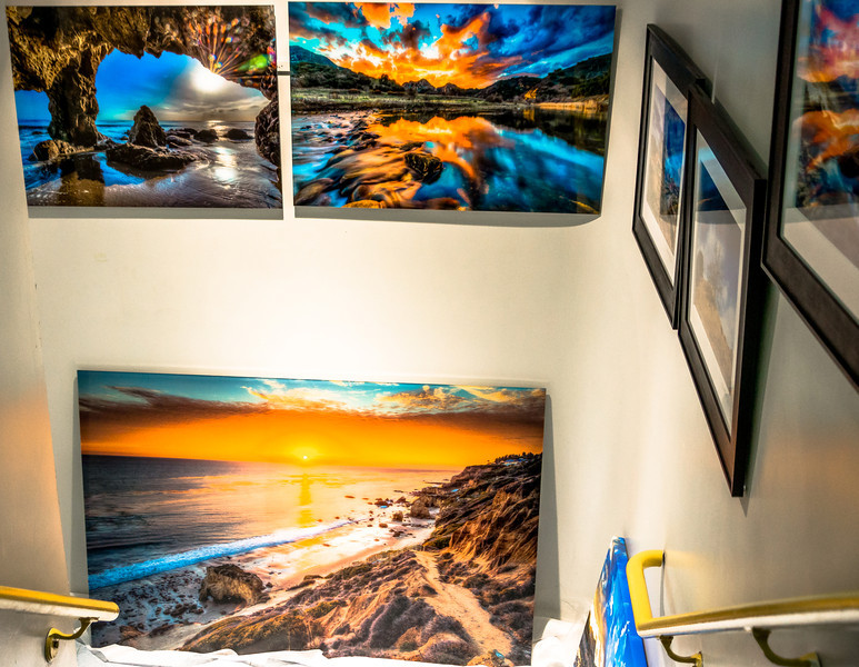 Los Angeles Gallery Show! Dr. Elliot McGucken Fine Art Malibu & Socal HDR Photography