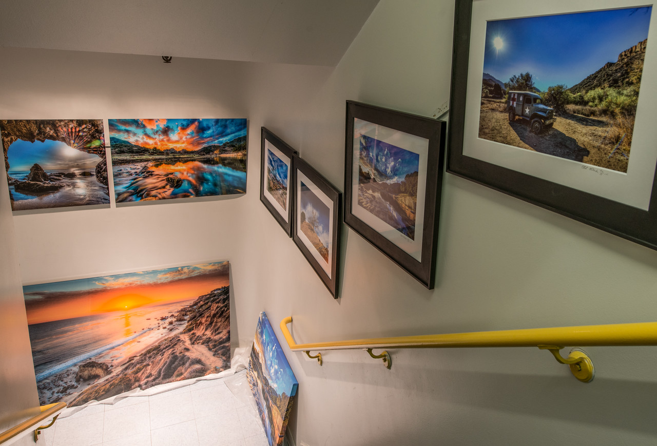 Nikon D800E Photos of Nikon D800E Photos Hanging at the Los Angeles Gallery Show! Dr. Elliot McGucken Fine Art Malibu & Socal HDR Photography