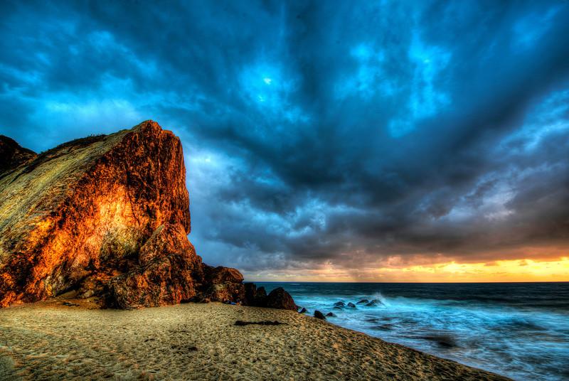 Nikon D800 E HDR Socal Malibu Landscape / Seascape Photography 14-24mm f/2.8 G ED AF-S Nikkor Wide Angle Zoom Lens