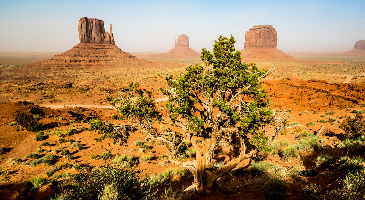 Monument Valley Dust Storm Utah! Nikon D800E Dr. Elliot McGucken Fine Art Landscape & Nature Photography for Los Angeles Gallery Show !