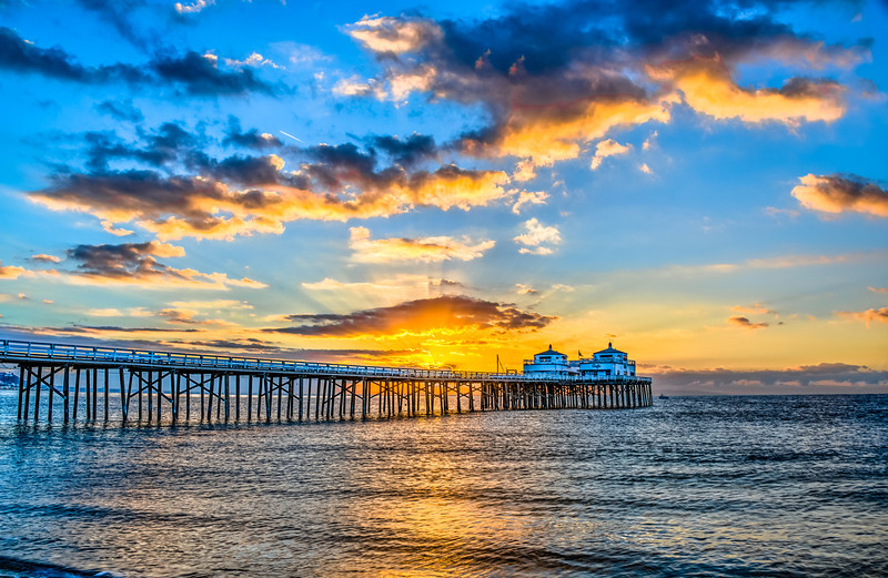 Malibu Pier Sunrises & Sunsets!  Nikon D800E Dr. Elliot McGucken Fine Art Landscape & Nature Photography for Los Angeles Fine Art Gallery Show !