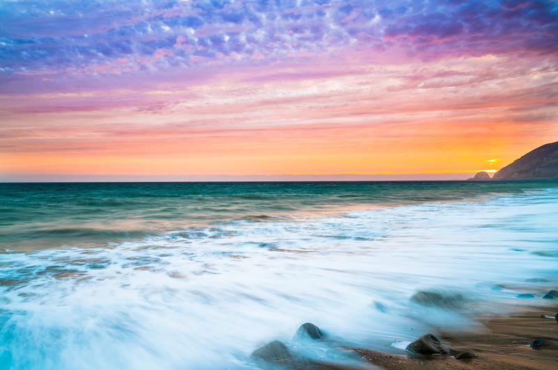 Malibu Fine Art Sunset! Sony A7rii & Sony 16-35mm Vario-Tessar T FE F4 ZA OSS E-Mount Lens! Dr. Elliot McGucken Fine Art Photography