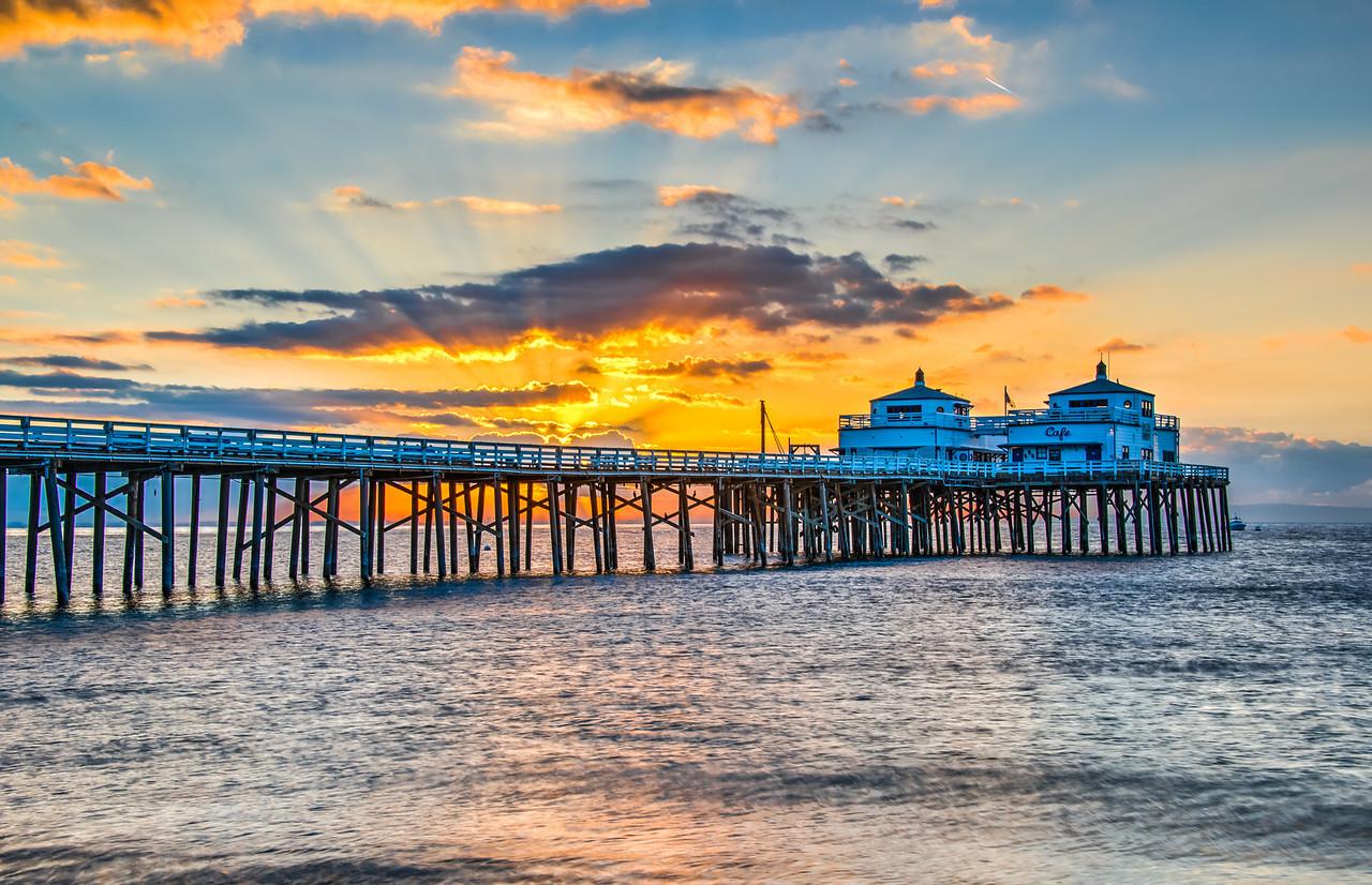 Malibu Pier Sunrises & Sunsets!  Nikon D800E Dr. Elliot McGucken Fine Art Landscape & Nature Photography for Los Angeles Fine Art Gallery Show !