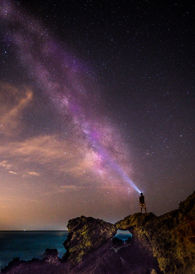 Malibu Sea Cave Starry Night Astrophotography!  Sony A7RII Fine Art Night Photography Milky Way Rising through Malibu Sea Cave ! Astro Landscape Photography!