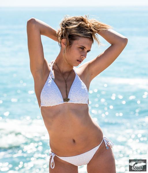 Nikon D800E Beautiful Swimsuit Bikini Model Goddess!  Nikon AF-S NIKKOR 70-200mm f/2.8G ED VR II Lens!