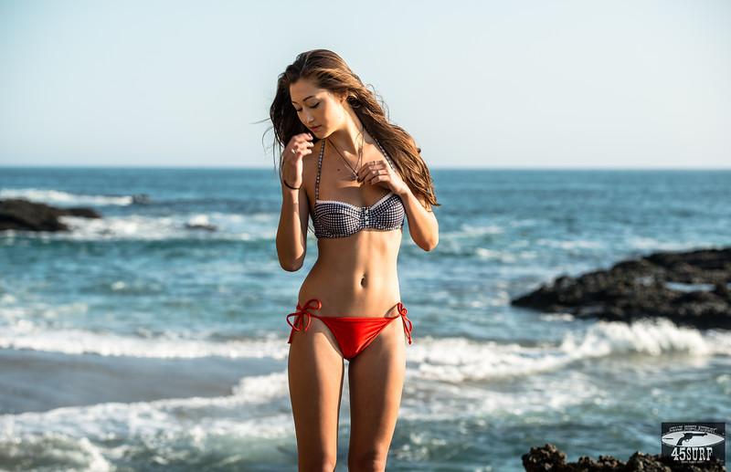 Pretty Asian Swimsuit Bikini Model! Nikon D800E Photos Gorgeous Model Goddesses shot with Sharp Nikon 70-200mm f/2.8G ED VR II AF-S Nikkor Zoom Lens For Nikon!