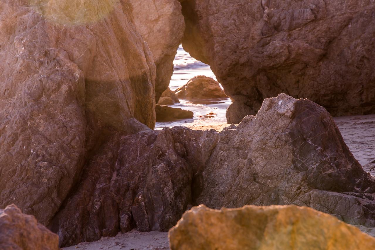 Nikon D810 HDR Photos Malibu Sea Cave Sunset, Dr. Elliot McGucken 45surf Fine Art Photography! 14-24mm Nikkor Wide Angle F2.8 Lens