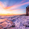 Nikon D810 HDR Photos Laguna Beach Sunset, Dr. Elliot McGucken Fine Art Photography!  14-24mm Nikkor Wide Angle F2.8 Lens!