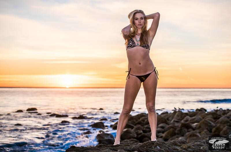 Nikon D810 Photos Pretty Swimsuit Bikini Model Goddess with Sharp Nikon 70-200mm f/2.8G ED VR II AF-S Nikkor Zoom Lens For Nikon!