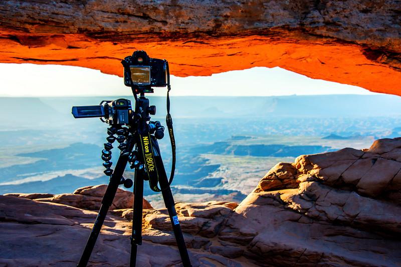 Sunrise at the Mesa Arch: Canyonlands National Park Utah!  Nikon D800E Dr. Elliot McGucken Fine Art Landscape & Nature Photography for Los Angeles Fine Art Gallery Show !