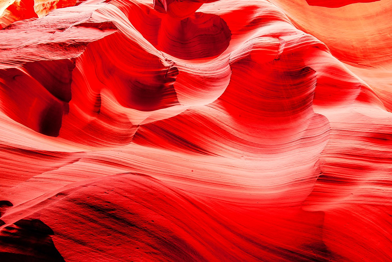 Sea of Red! Canyon X & Slot Canyon Ghosts & Light Beams Dancing in Antelope Canyon! Nikon D800E Dr. Elliot McGucken Fine Art Photography for Los Angeles Gallery Show!