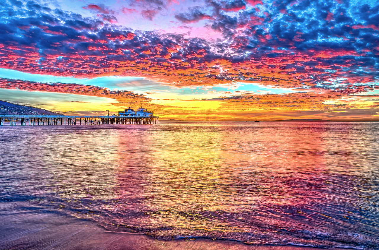 Malibu Beaches Sunrises & Sunsets!  Nikon D800E Dr. Elliot McGucken Fine Art Landscape & Nature Photography for Los Angeles Fine Art Gallery Show !