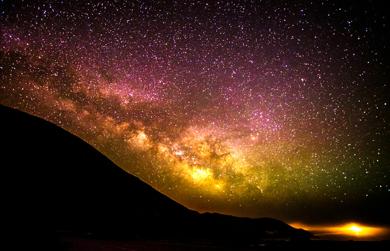 Milkyway Rise Over Big Sur