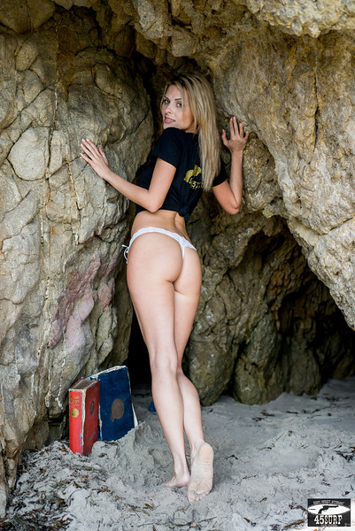 PRETTY MODEL Gold 45 Goddess in Sea Cave!! Sony A7R RAW Photos of Silky Hair Bikini Swimsuit Model Goddess! Carl Zeiss Sony FE 55mm F1.8 ZA Sonnar T* Lens! Lightroom 5.3 !