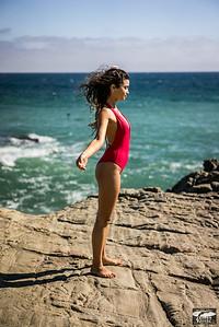 Red one piece swimsuit! Sony A7R RAW Photos of Tall, Thin Pretty Brunette Bikini Swimsuit Model Goddess! Carl Zeiss Sony FE 55mm F1.8 ZA Sonnar T* Lens ! Lightroom 5 !