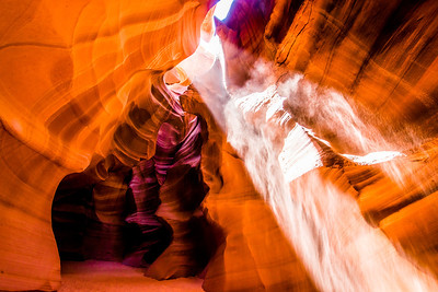 Slot Canyon Ghosts & Light Beams Dancing in Antelope Valley! Nikon D800E Dr. Elliot McGucken Fine Art Landscape & Nature Photography for Los Angeles Gallery Show!