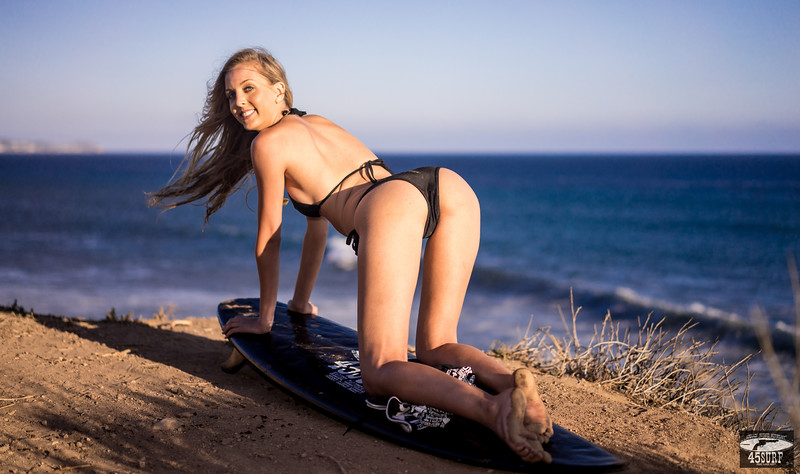 Sony A7R RAW Photos of Tall, Thin Pretty Blond Bikini Swimsuit Model Goddess! Carl Zeiss Sony FE 55mm F1.8 ZA Sonnar T* Lens ! Lightroom 5.3 ! 45surf Surfboard!