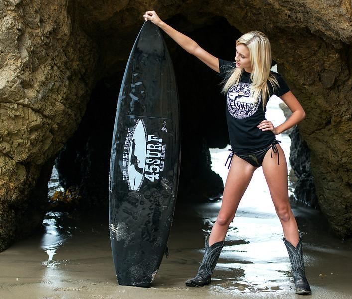 Nikon D800 E Photos of Beautiful Blonde Swimsuit Bikini Model Goddess & Surfboard
