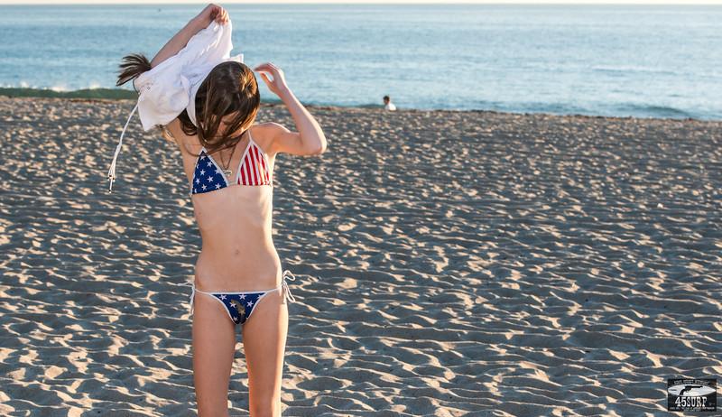 Tall Brunette Swimsuit Bikini Model Goddess with Long, Pretty Legs! Nikon D800E + 70-200mm F2.8 VR2 Nikkor Zoom Lens Photos! Pretty blue-green eyes!