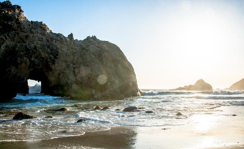 Window rock in Big Sur!  Nikon D800E Dr. Elliot McGucken Fine Art Landscape & Nature Photography for Los Angeles Fine Art Gallery Show !