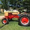 The theme tractor company for the 47th annual event, the Case Tractor, sits on display at the Antique Power and Steam Exhibition in Burton, Ohio July 30. (Kailee Leonard/The News-Herald)