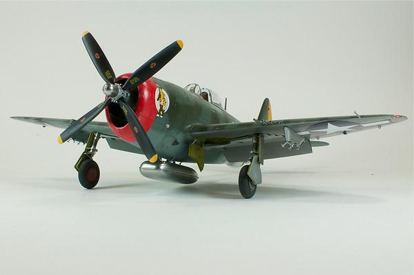 1/48 P-47D - Hairless Joe
