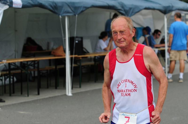 ultra závod Kladno 24+48 hodin 2008-Sri Chinmoy Marathon team