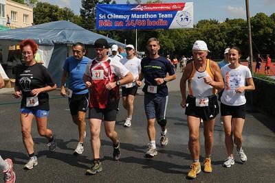 Ultrabeh 24+48 hodin Kladno 2009 poradany Sri Chinmoy Marathon teamem